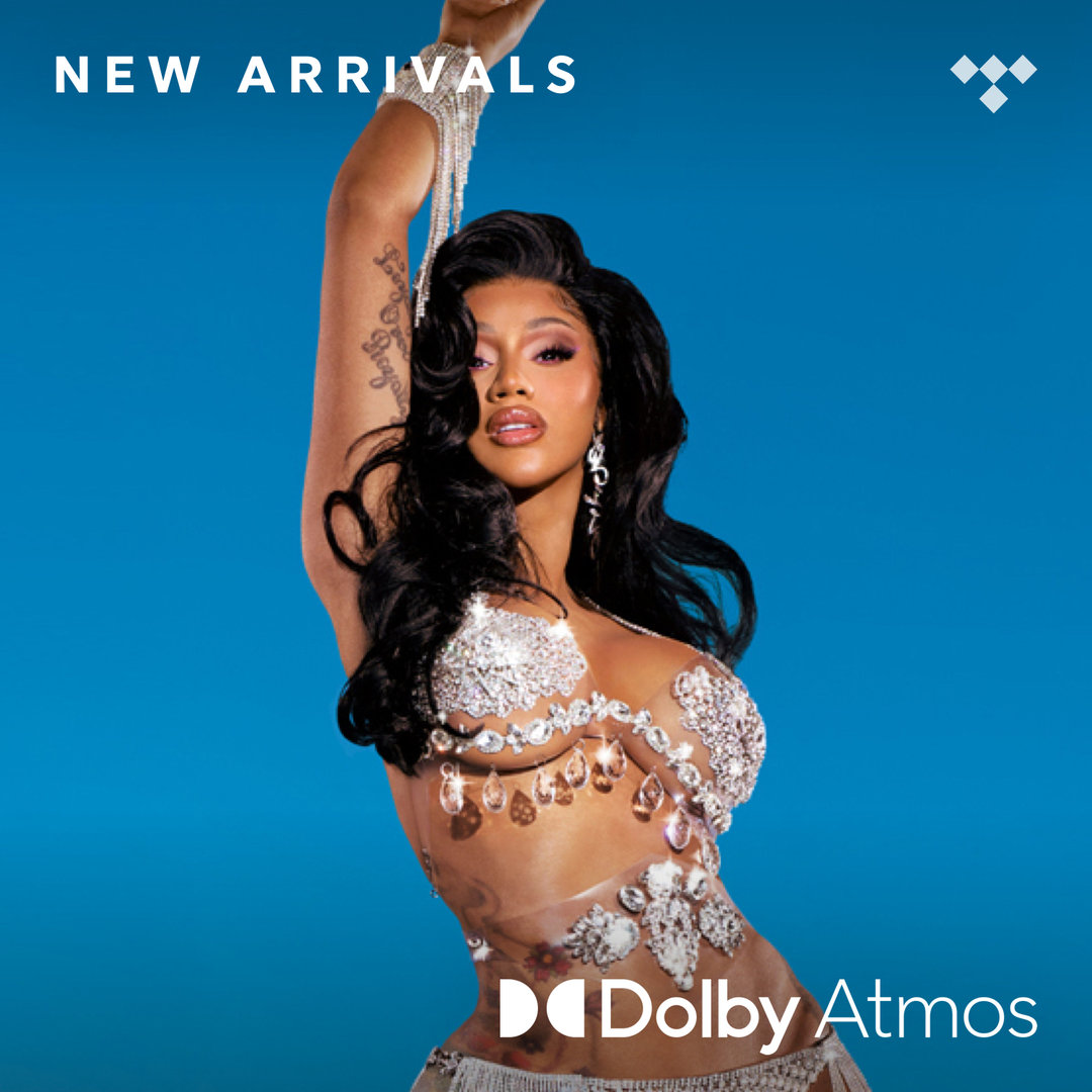 Listen to @iamcardib and so many others like never before in @Dolby Atmos - an immersive listening experience in the best sound quality, now available on TIDAL.
