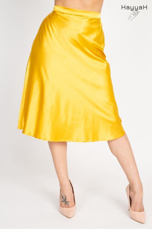 🎉AT   Our A-line Satin Midi Skirt has been restocked! It is now selling at $18.99, so grab one right now at  !  #onlineshopping #fashion #onlineshop #style #sale #instagram #dress #accessories #HayyaH