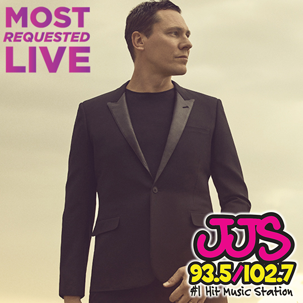 Coming up TOMORROW on #MostRequestedLive -- we talk to #Tiesto & #IndianaMassara! Plus a brand new Twitta and Tik Tok Mix every hour! Listen live to 93.5/102.7 JJS Saturday night starting at 7:00: