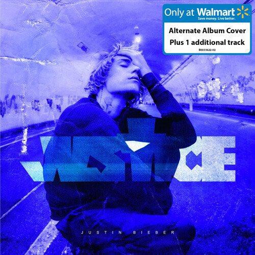 """Replying to @biebernovidade: """"JUSTICE"""" terá uma versão para o Walmart que contém 1 música a mais da versão original."""