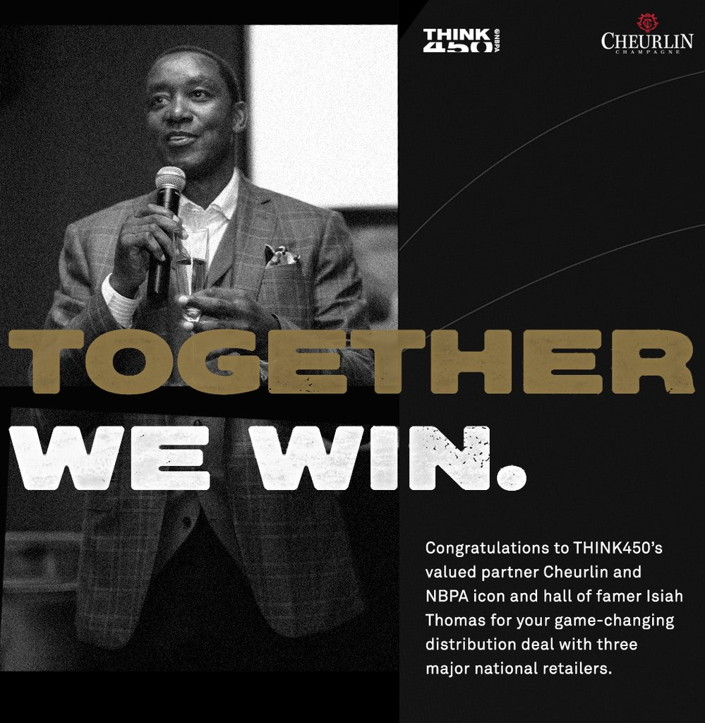 Together We Win 🥂  @Cheurlin1788 is the Official Champagne of the NBPA, providing all NBPA members with equity and ownership in the company. https://t.co/npbdHzlzab