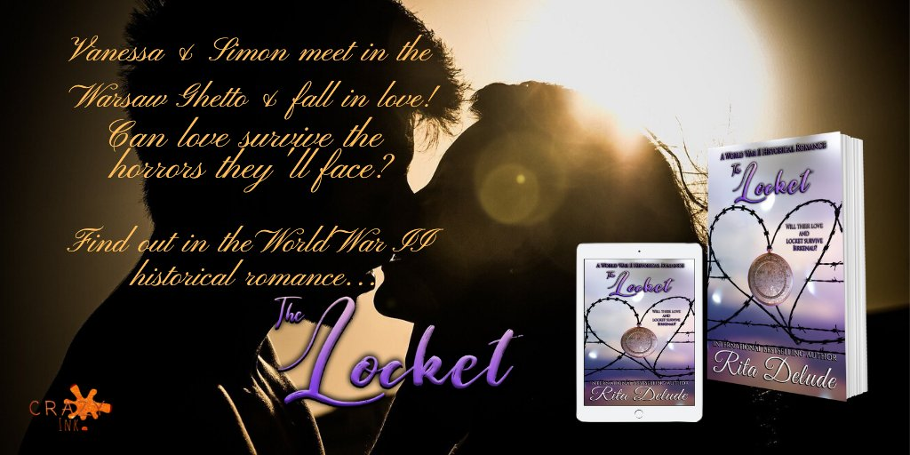 Want to escape into a powerful romance? Read… The Locket: Historical romance Rita Delude Link:  #HistoricalFiction #historical #Historic #Romance #Survival #Holocaust #holocaustremembranceday #HolocaustMemorialDay #NewReleases  #GreatReads #WWII #LoveStory
