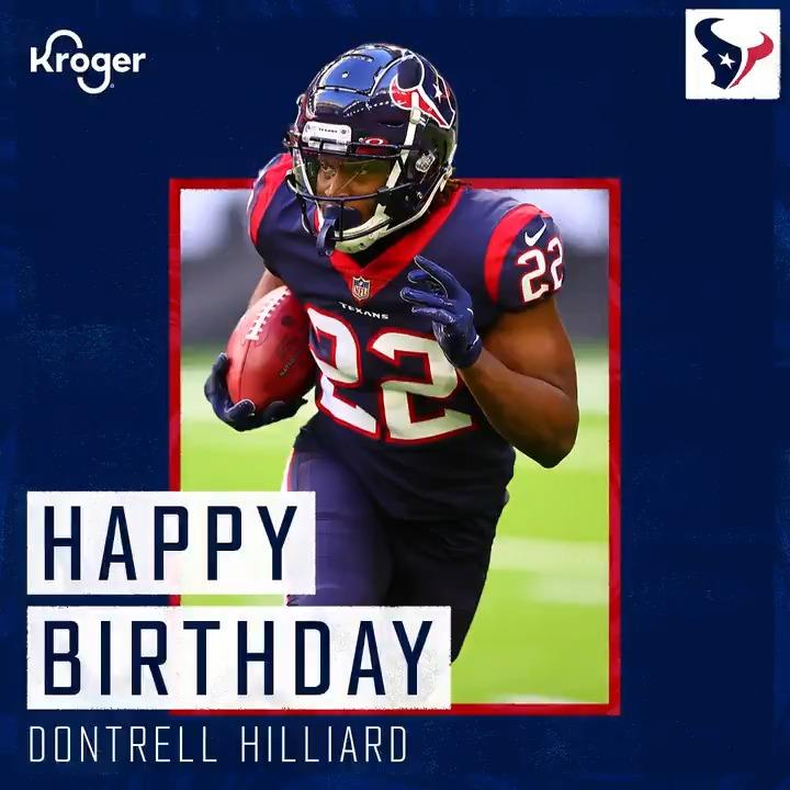 Happy birthday, @D_Hilliard26! 🎉