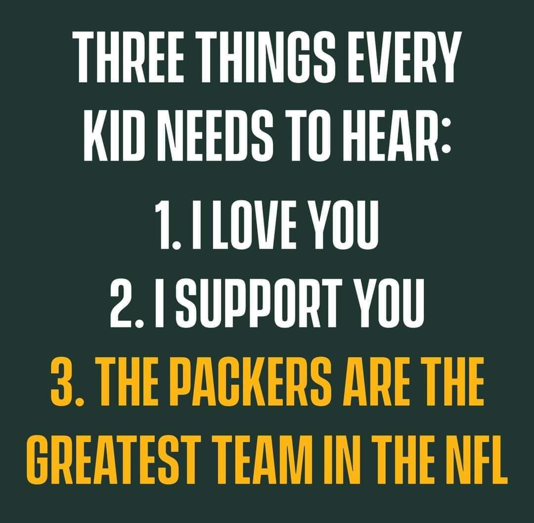Truth!  #GoPackGo