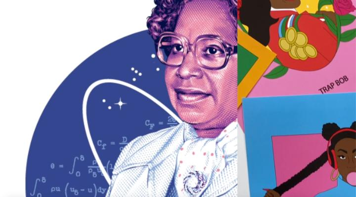 To mark today's naming of the NASA Headquarters building for Mary W. Jackson, we collaborated w/ @TheEventsDC to showcase 6 local Washington, DC female artists' work inspired by Jackson's story as NASA's 1st Black female engineer! Look: https://t.co/LhUdGkm6du  #BlackHistoryMonth https://t.co/nx2Xi1IHxD