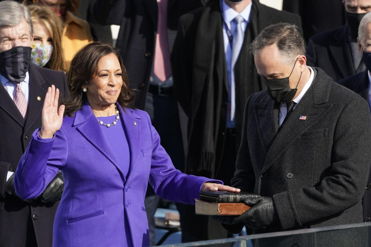 For Black History Month, we would like to honor Vice President Kamala Harris! 👏  @KamalaHarris is the highest-ranking female African American/Asian American official in U.S. history! 🙌  Thank you for being such a huge inspiration to future generations. 🙏