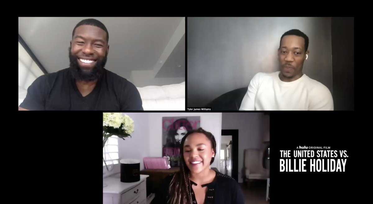 INTERVIEW: Trevante Rhodes & Tyler James Williams on 'The United States vs. Billie Holiday,' Working with @leedanielsent and @AndraDayMusic, Hollywood, and What's Next @USvsBillie #USvsBillieHoliday WATCH: