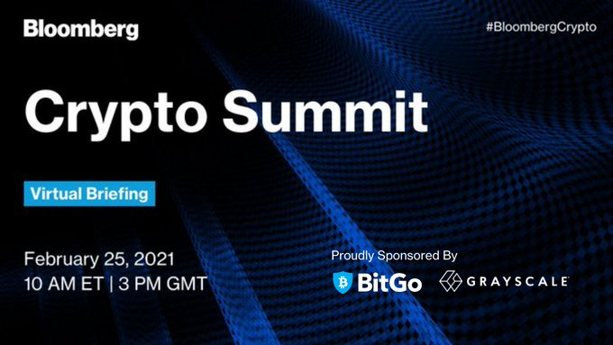That brings #BloombergCrypto to a close! Thanks to all who participated and a big thank you to our sponsors @BitGo and @Grayscale. Missed the event? Watch on-demand here!