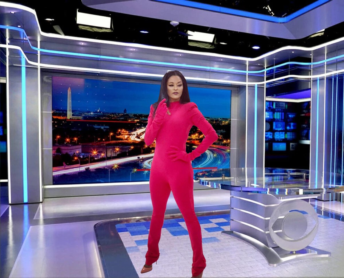 OMG! Could you ever imagine that if @claudiajordan ever decides to go back to the #journalism filed, then I'm sure she'll be better off becoming the first #Black anchor of @cbseveningnews  I'm sure she'll make history! 😇  #memes #makethisgoviral #makebelieve @norahodonnell #lol