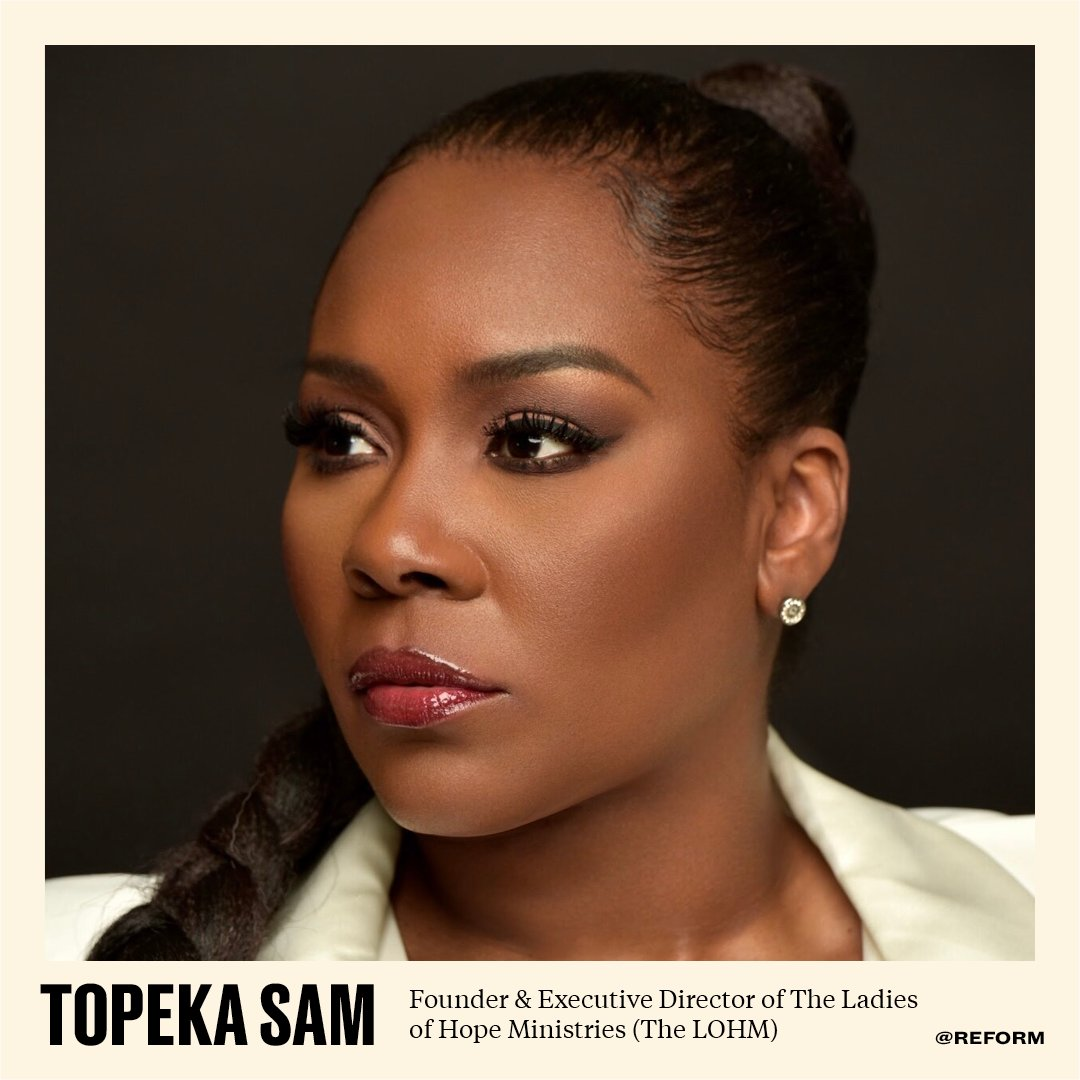 .@TopekaKSam, the Founder & Exec. Director of @thelohm served three years in federal prison. Since her release she has worked selflessly & relentlessly for the dignity decriminalization & decarceration of women & girls through her foundation &  other endeavors. #BlackHistoryMonth