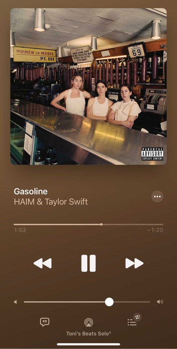 @taylornation13 ✨Can't STOP won't STOP kicking off my boots in the passenger seat and listening to the #GasolineRemix ON REPEAT 🔂 ❣️😻🎵⛽️