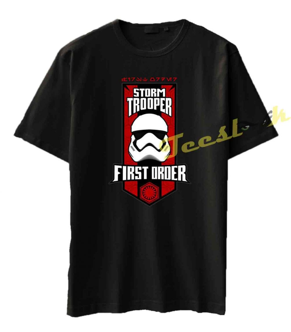 #gift #family #friends #shop #onlineshopping #shoponline #gift #giftidea #love #kindness #apparel #fashion #clothing #streetwear First Order Stormtrooper Tee shirt Men Women Casual Short Sleeve