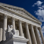 Image for the Tweet beginning: Supreme Court once again sides