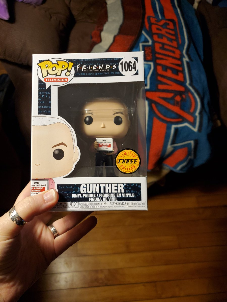 I was at @BNBuzz and found the chase of Gunther. This was a good night. 😀 #Friends #FunkoPop #FunkoPops #Funkos #funkocollector #funkoaddict #chasefunkopop