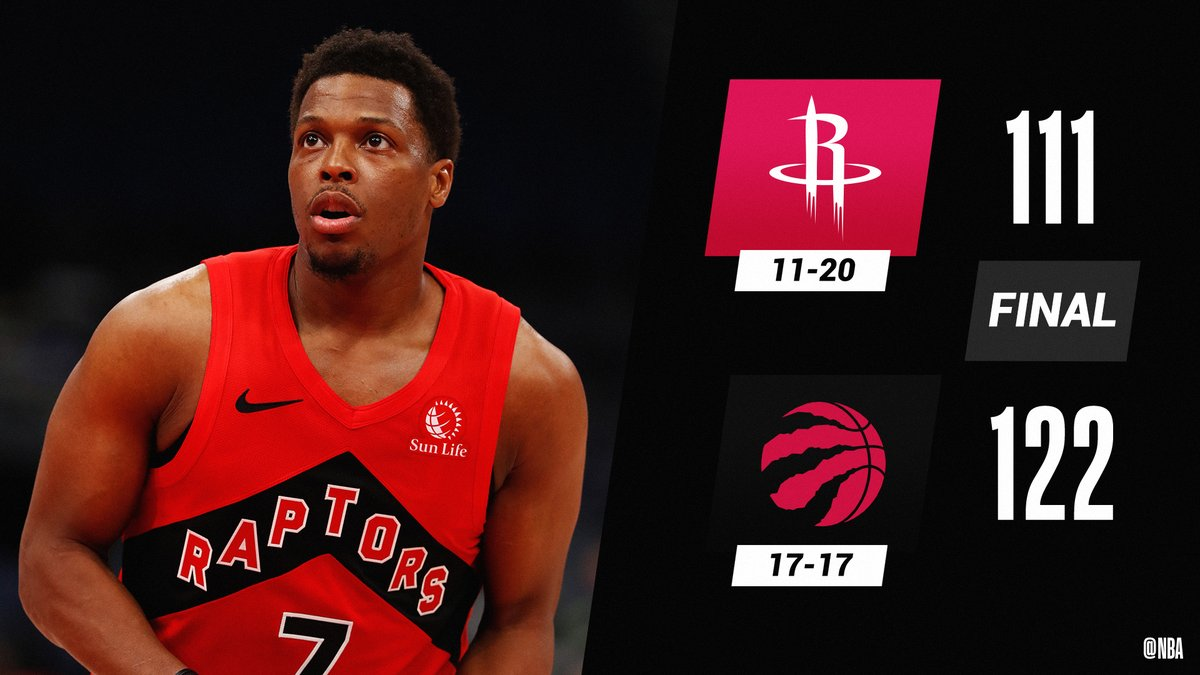 🏀 FINAL SCORE THREAD 🏀  Kyle Lowry's triple-double powers the @Raptors to victory!  Lowry: 20 PTS, 11 REB, 10 AST Norman Powell: 30 PTS Fred VanVleet: 25 PTS, 3 STL