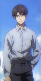 Replying to @idkyet45254650: Low quality anime dilfs and their matching outfits #Gojo #AttackOnTitan