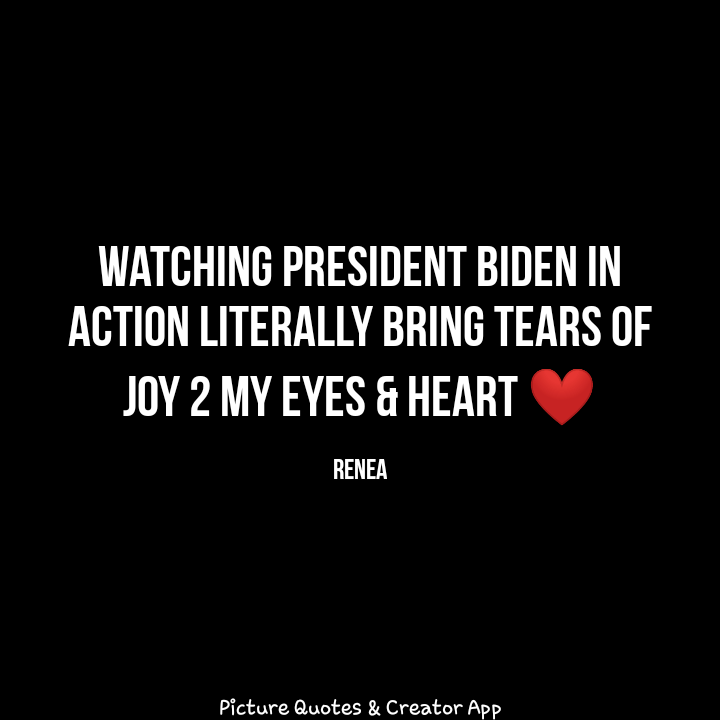 #PresidentJoeBiden is r hero ... He's #perfect #amazing  he cares about #HumanityFirst #HumanRights #blacklivesmatter .... R PRESIDENT IS HUMAN WITH A HEART❤...