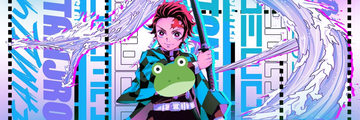 #DemonSlayer #Tanjiro Twitter Header. Took me ages to make and remake.