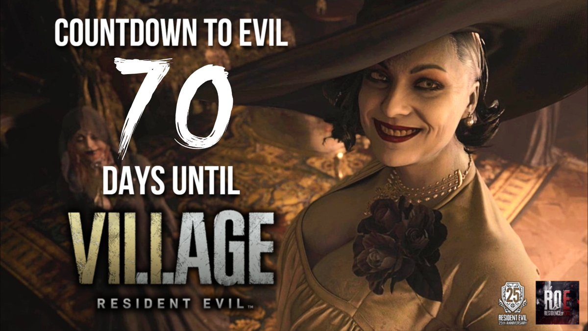 70 days to #ResidentEvilVillage!   Tonight I'll post two more pages of George A. Romero's unfilmed #RE movie script!  - Xander  #REBHFun #RESIDENTEVIL8 #ResidentEvil8Village #RE8 #RE8Village #ResidentEvil