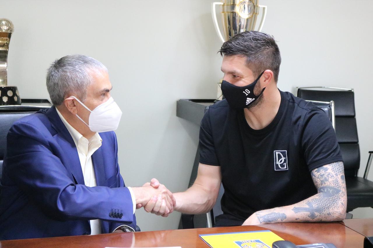 André-Pierre Gignac renueva su contrato con los Tigres hasta 2024