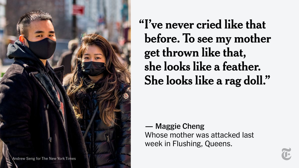 Attacks against Asian-Americans in New York City have soared since the pandemic began, terrifying many and stoking fears of targeted violence. The xenophobia is also compounded by the economic fallout of the pandemic and fears of the coronavirus.