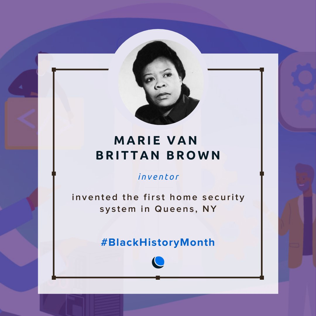 Marie Van Brittan Brown and @ABenton are two powerhouse women in #TechHistory.   Their remarkable contributions to tech are some you may not have heard of — Do yourself a favor and check out their stories today 👉    #BlackHistoryMonth #ShareBlackStories