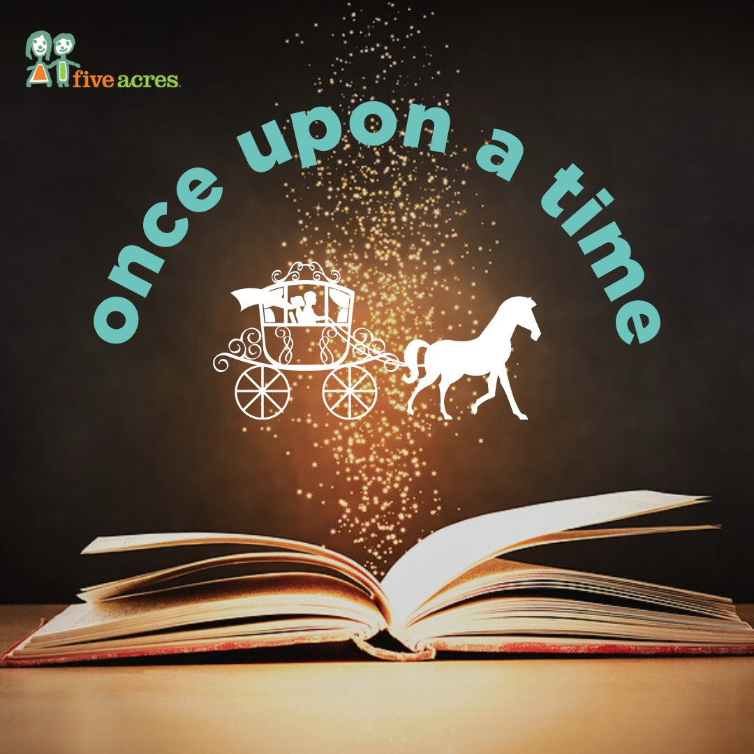 "Create some magic this ""Tell a Fairytale Day""! Beautiful family memories can be had by performing a play in the living room or writing a new bedtime story together.  #TellAFairyTaleDay #FairyTale #FiveAcres #5Acres #Altadena #LosAngeles #California"