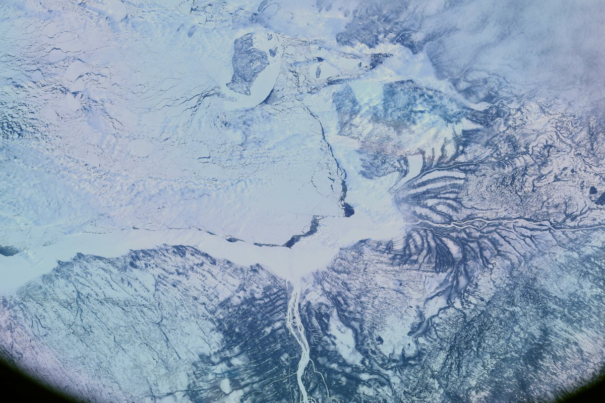 South end of #Hudson Bay, #Canada. 真冬のハドソン湾、#カナダ