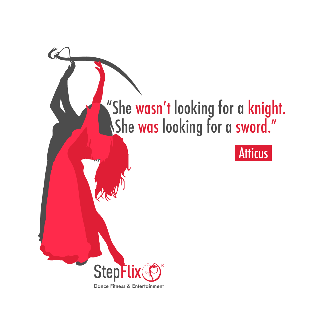 Where are all our bellydancers that love to perform with a sword? 💃🏻⚔️  #StepFlix #DanceQuotes #Quotes #QuotesAndSayings #QuotesForYou