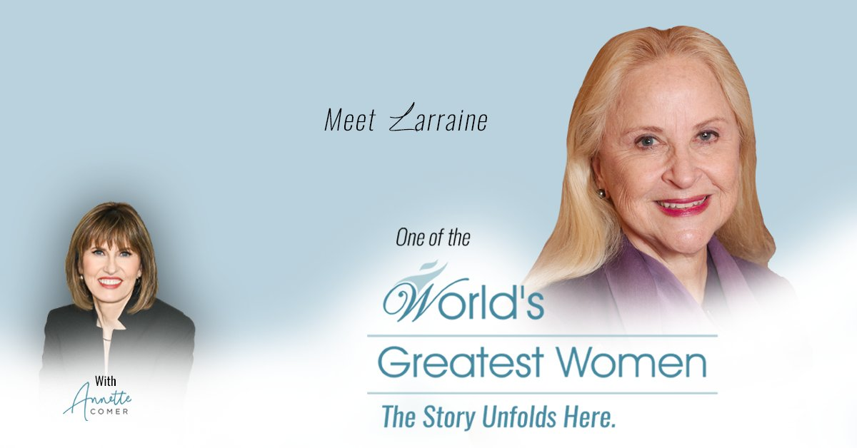 Here's another amazing World's Greatest Women Show where Annette tells the untold story of Larraine Segil    #businessowner #Entrepreneur #leadership  #WomeninBusiness #women #Leaders #womenleaders