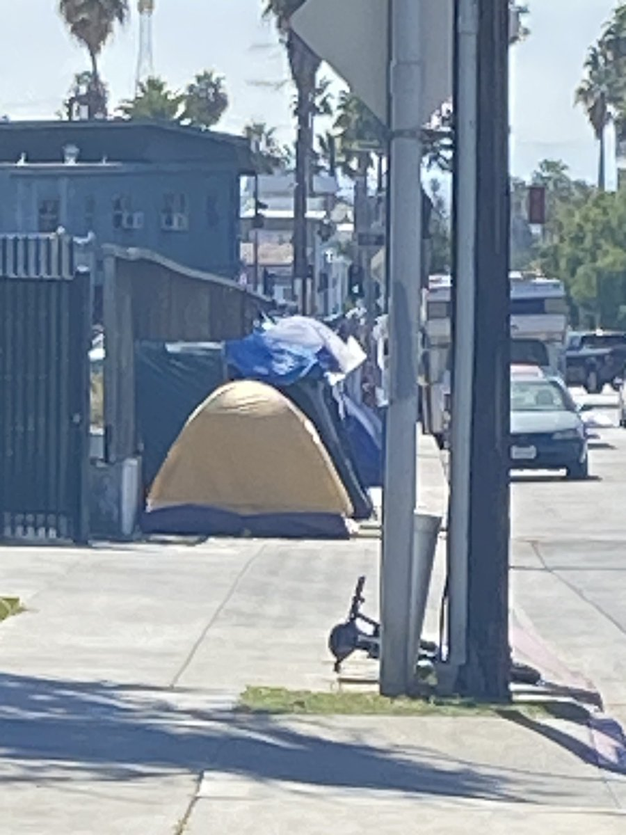 The #homeless count by the city of #LosAngeles didn't happen because of the #pandemic . A #Hollywood non profit , with the help of other non profits , leads volunteers for their own count. More @ABC7 at 4 and 5.
