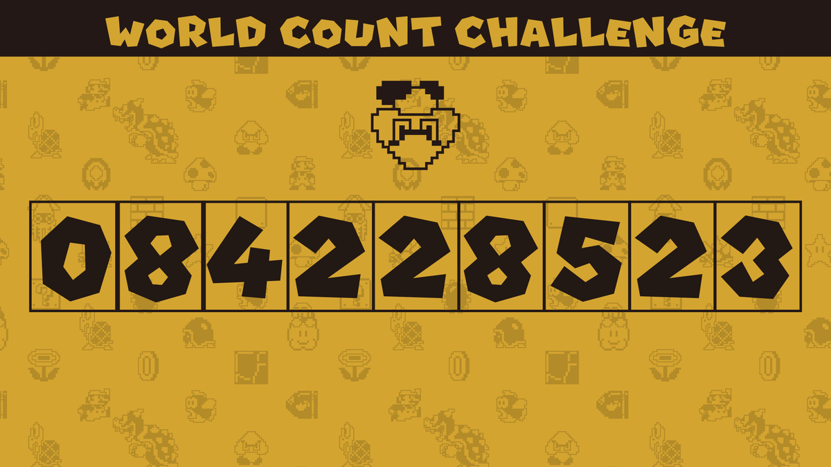 We've hit the midway point in the 2nd #SuperMarioBros35 World Count Challenge!    As of 2/25, players have defeated 84,228,523 Goombas!  Keep pushing, and all participating players defeating at least one Goomba will receive 350 My Nintendo Platinum Points!