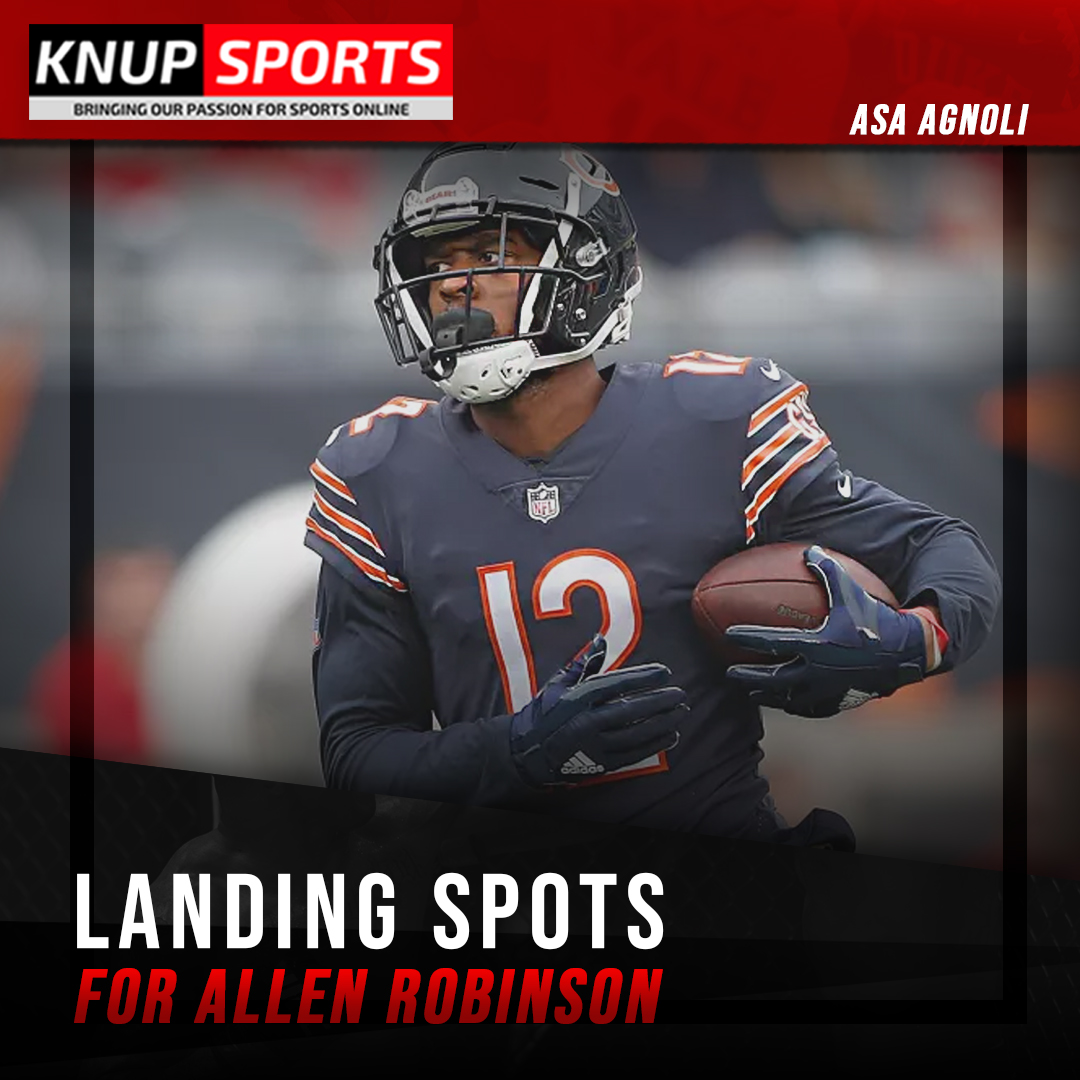 Every #football fan should prepare themselves for a crazy #offseason in the #NFL.  #AllenRobinson is a receiver that is comparative to #StefonDiggs and #DeAndreHopkins.   Continue at   #Sports #Football #NFL #Sportsnews #AFC #quarterback