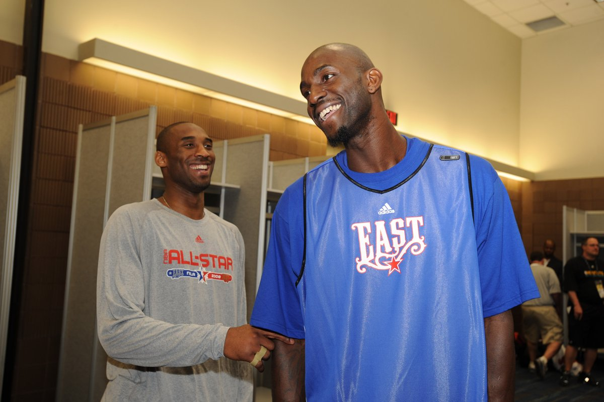 .@KevinGarnett5KG wrote about his love for Kobe Bryant in his new book, 'KG: A to Z: An Uncensored Encyclopedia of Life, Basketball, and Everything in Between.'