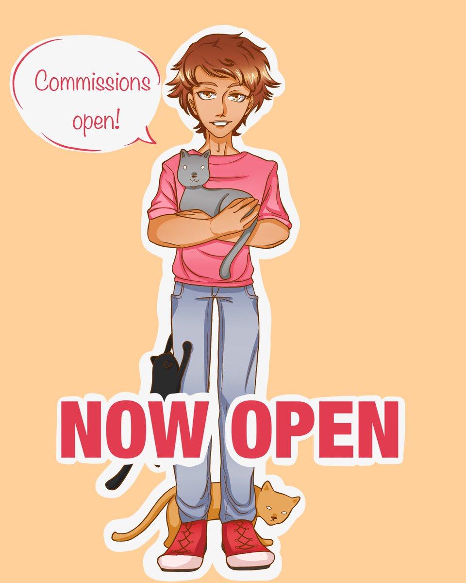 Hi!  I'm opening up art commissions! Dm me and we can talk :)  #commissionsopen #commissions #under10kgang #art #digitalart