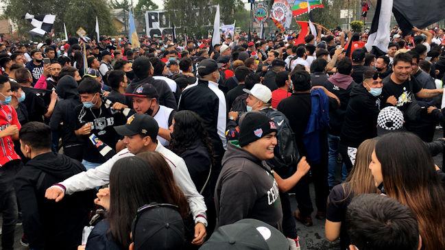Garra Blanca se manifestó en el Monumental contra las decisiones de Blanco y Negro #CooperativaEnCasa