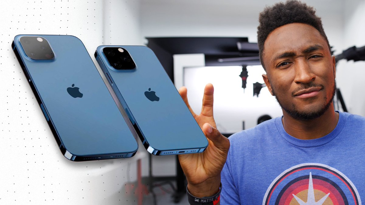 """NEW VIDEO - iPhone 13 """"Confirmed""""?!  - RT!"""