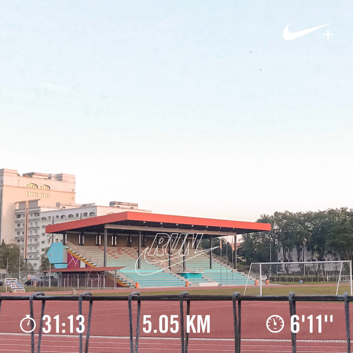 "• 27.02.2021  ""Believe in the run.""   🏃🏼@twtjogging #TeamNike #NRC"