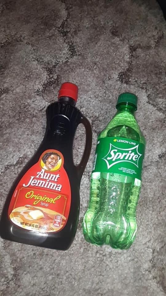 Replying to @roylopez808: I tried this and it's nasty asf, idk why rappers always bragging bout mixin syrup & sprite🤮