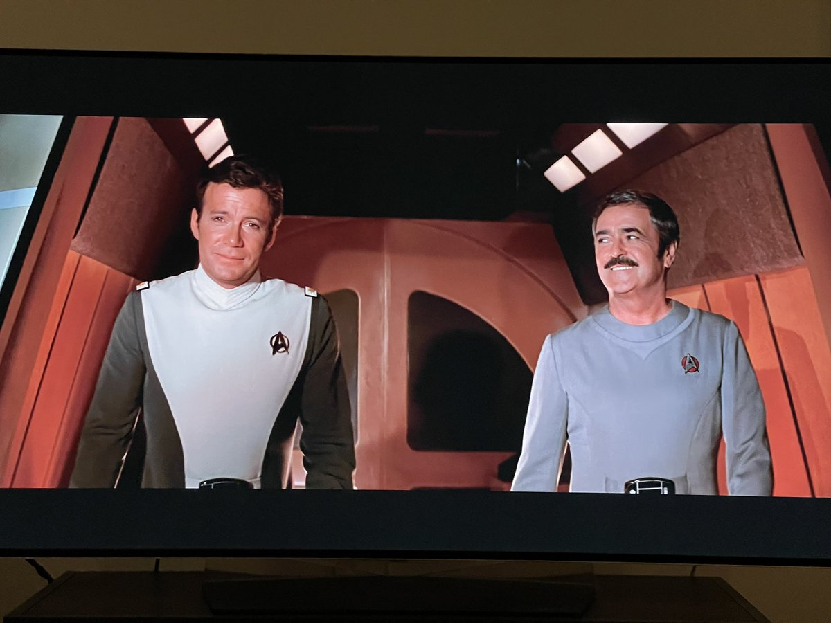 tonight we're watching STAR TREK THE MOTION PICTURE. upscaled blu ray. https://t.co/vmXMzgINcB