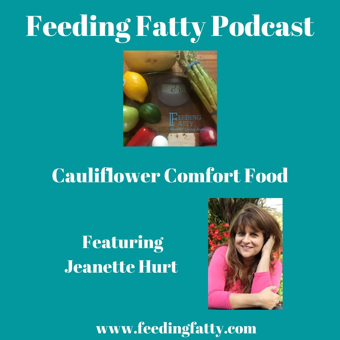 "Full episode available at  Feeding Fatty   ""Well, the thing that was probably the craziest...was adding rice cauliflower to chocolate chip cookies."" ~ Jeanette Hurt   #healthy #cauliflower #feedingfatty"