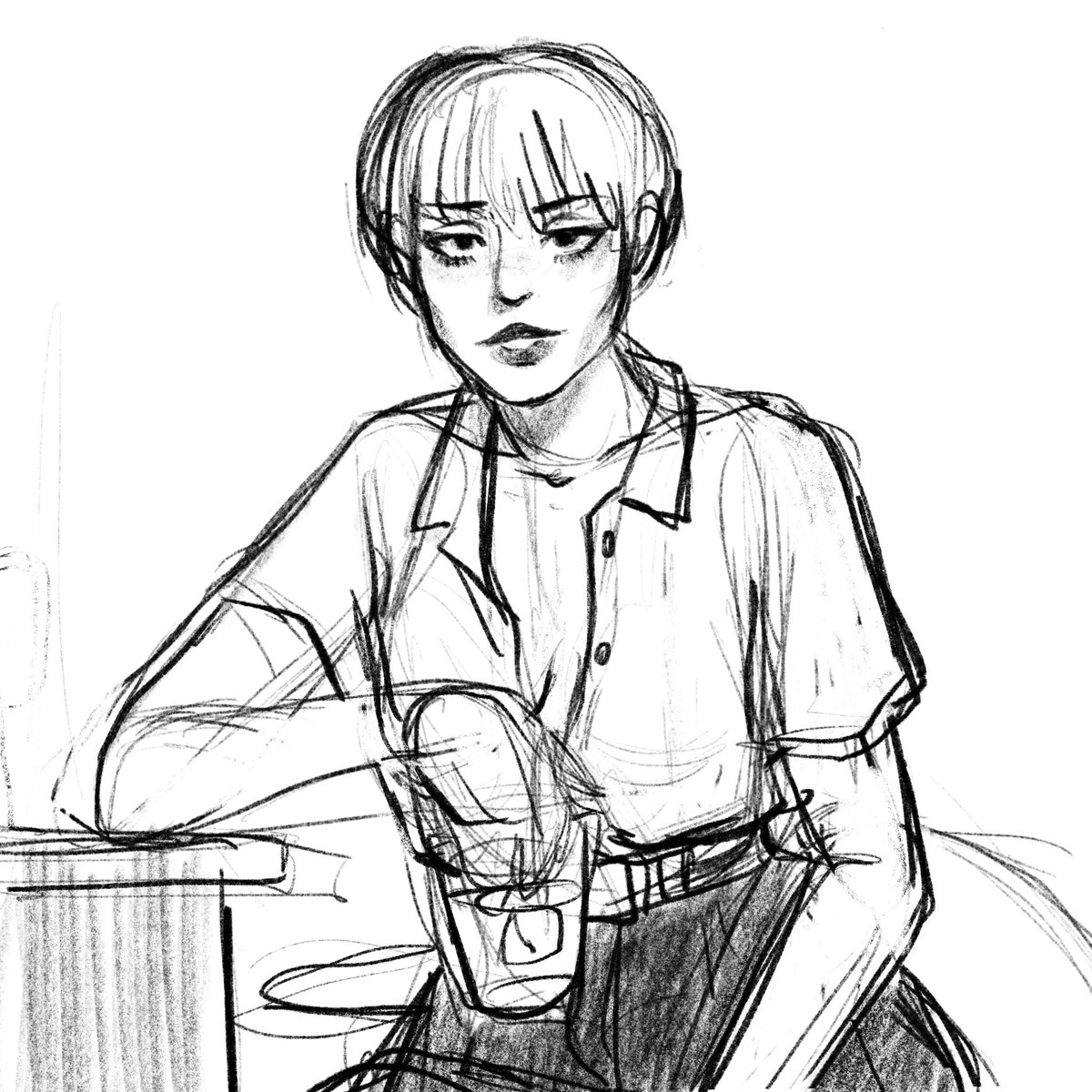 wip because i keep thinking of yelena in this fit😳  #進撃の巨人 #AttackOnTitan #Yelena