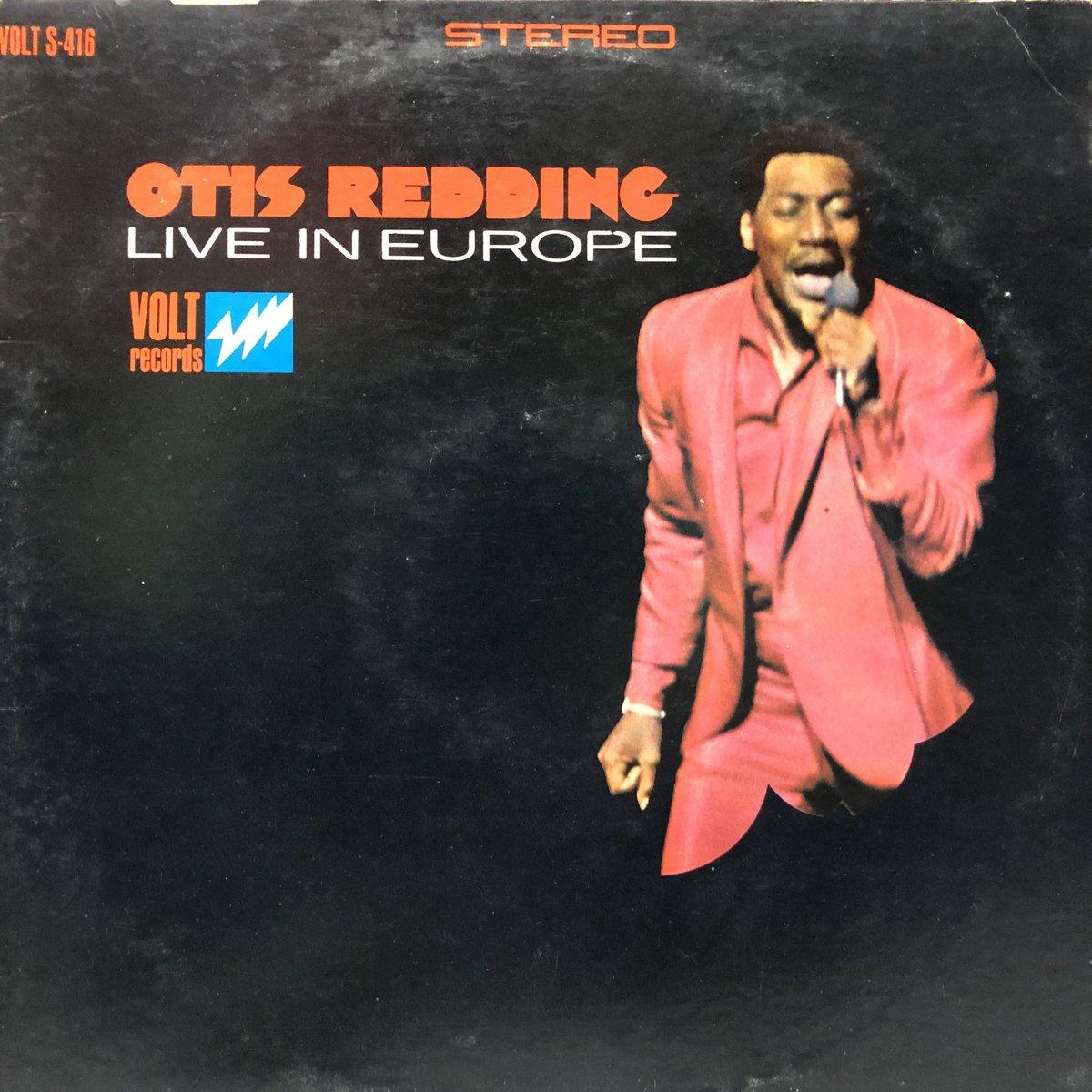 Otis Redding – Otis Redding Live In Europe  Volt – VOLT S-416, Volt – VOLT 416, Volt – S 416 LP,Terre Haute Pressing US盤 1967年 #otisredding   ガタガタ、ファファファファ言うとりまんがな