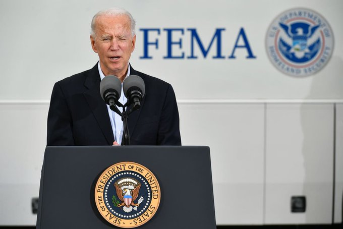 Biden says US 'weeks ahead of schedule' and will be first country to 100 million vaccinations Photo