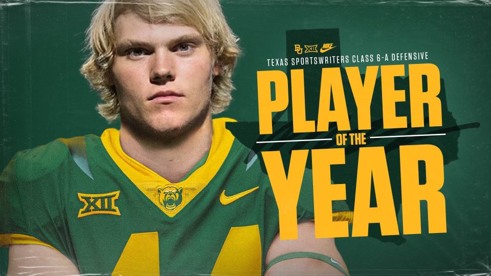 All State defensive player of the year.✅@BUFootball