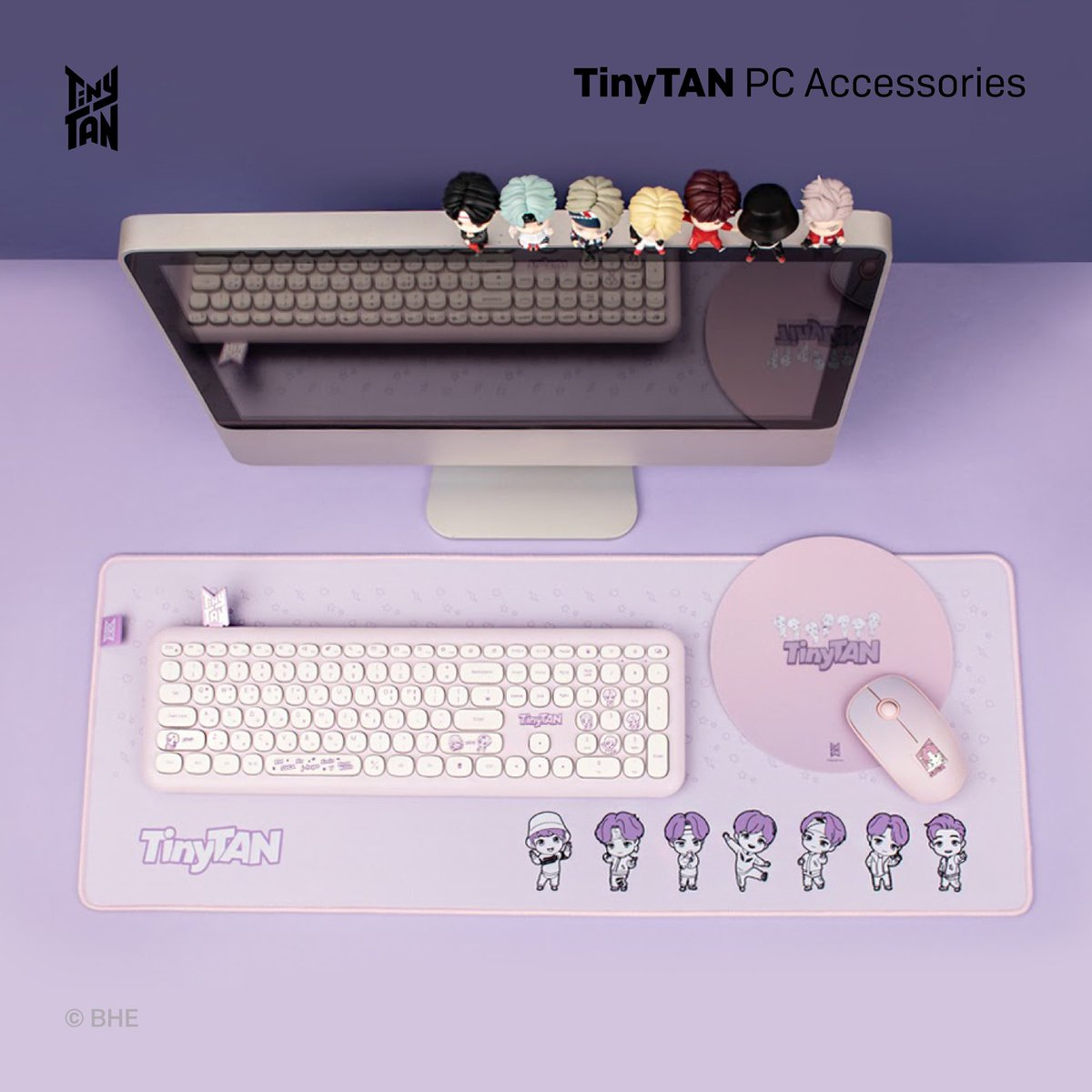 [February 2021] Newly Launched Licensed Products! TinyTAN @ROYCHE_OFFICIAL PC Accessories available in Japan and Korea
