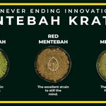 Image for the Tweet beginning: Last, we have Mentebah Kratom