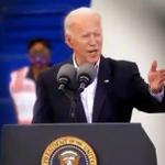 Image for the Tweet beginning: Joe Biden says he's launching