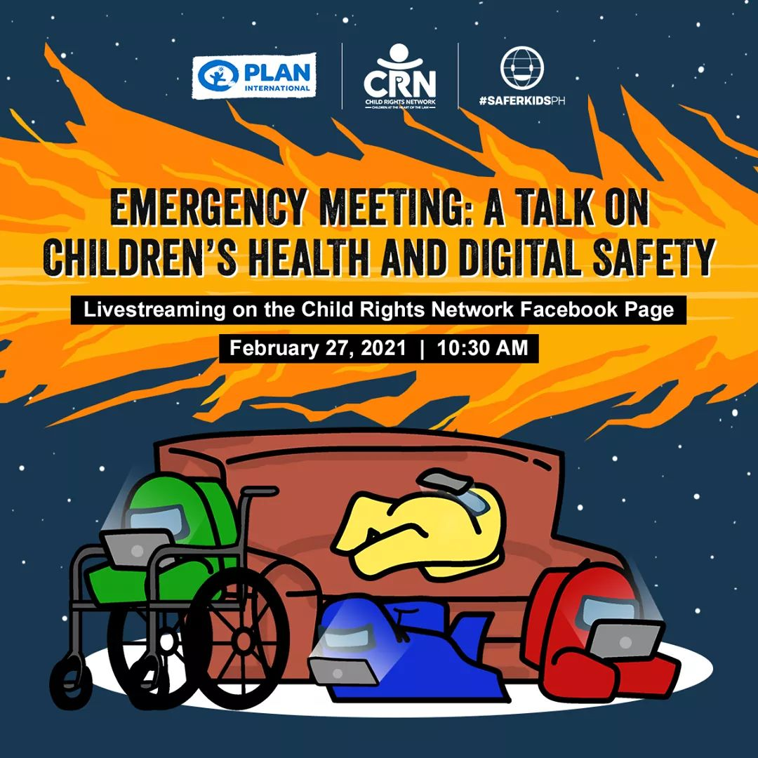 Samahan ninyo kami ngayong araw para sa isang talakayan hinggil sa digital safety at mental health. This will be live-streamed via CRN's FB page.  #SaferInternetDay #FreeToBeOnline #ShutDownOSEC