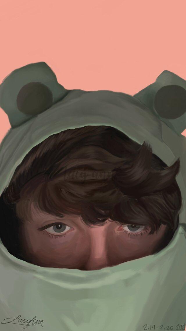 @KarlJacobs_  Fanart w/ the iconic frog hoodie 🐸🤍 ••••••••#karljacobsfanart #ArtistOnTwitter #karljacobs #dreamsmpfanart #dreamsmp #TALESFROMTHESMP #froghoodie #digitalart